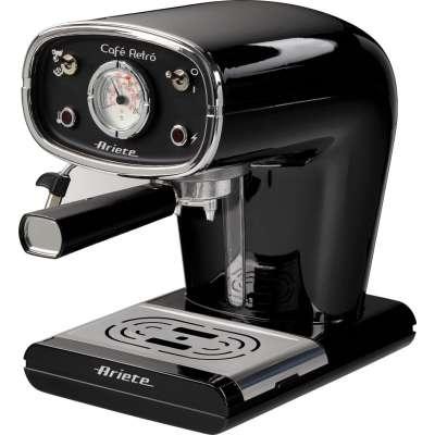 ARIETE 1388 BLACK COFFEE MAKER ESPRESSO RETRO