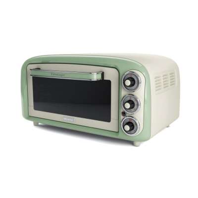 ARIETE 0979/04 Vintage Electric Oven 18L GREEN