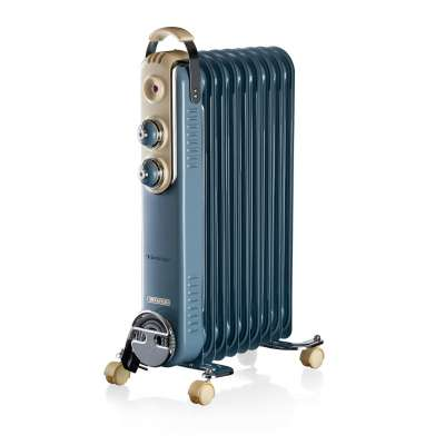 ARIETE 0838/05 OIL RADIATOR 9 FINS BLUE