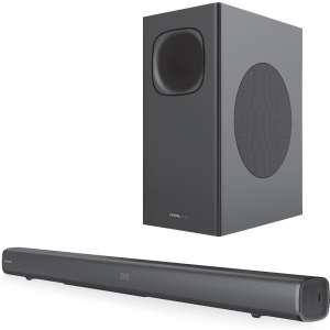 CRYSTAL AUDIO CASB320 Bluetooth Soundbar with wireless subwoofer 320W
