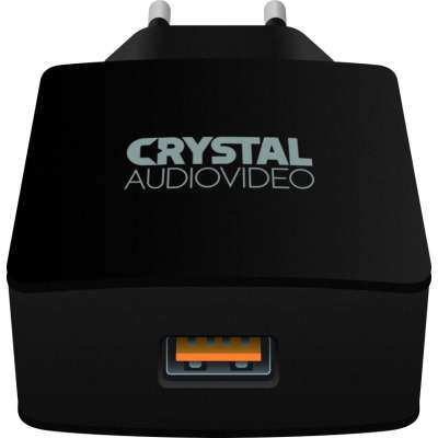 CRYSTAL AUDIO QP-3 QC3.0 port 3.65-6.5V/3A 6.5-9V/2A 9-12V/1.5A Single USB Wall Charger