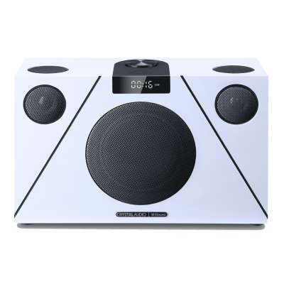 CRYSTAL AUDIO 3D-74 WiSound Speaker ΒΤ/ΗDMI/OPT/AUX White