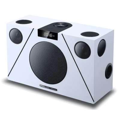 CRYSTAL AUDIO 3D-74 WiSound Speaker ΒΤ/ΗDMI/OPT/AUX White