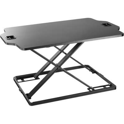 CRYSTAL AUDIO ERGONOMIC STANDING DESK SD-1 79,5x54x40,7 BLACK