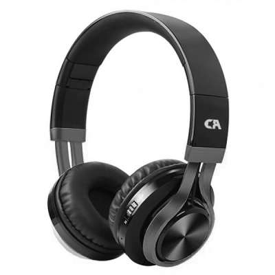 CRYSTAL AUDIO BT-01-K BOX BLUETOOTH BLACK OVER-EAR HEADPHONES