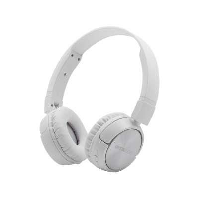 CRYSTAL AUDIO BT4-W WHITE BLUETOOTH ON-EAR FOLDABLE HEADPHONES