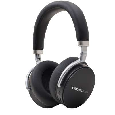 CRYSTAL AUDIO STUDIO1K BLACK ANC OVER-EAR HEADPHONES