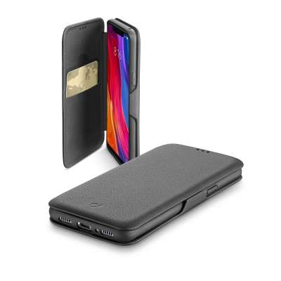 CL 338427 BOOKCLUTCHXIAOMI8K BOOK CLUTCH CASE XIAOMI MI 8 BLACK