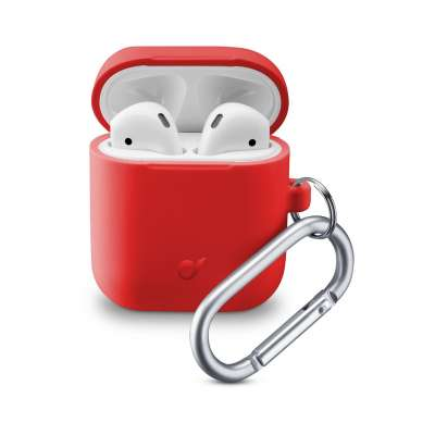 CL 355813 BOUNCEAIRPODSR BOUNCE CASE AIRPODS 1 & 2 RED