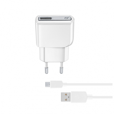 CL 226861 ACHUSBMUSB2AW CHARGER KIT HUAWEI&C 2A MUSB WHITE