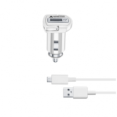 CL 304118 CBRSMKIT15WMUSBW CAR CHARGER KIT SAMSUNG 15W MUSB WHITE