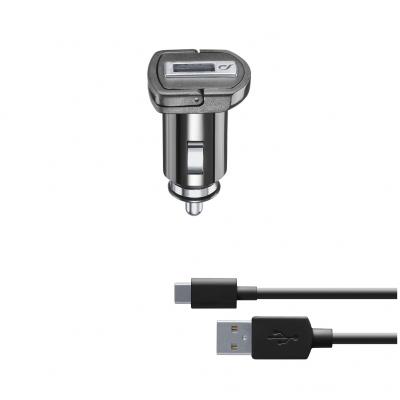 CL 355653 CBRKIT10WTYCK USB CAR CHARGER KIT 10W USB-C BLACK