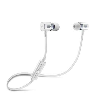 CL 278907 BTMOSQUITOW WHITE BLUETOOTH STEREO EARPHONES
