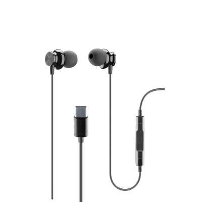 CL 353970 AUSPARROWTYPECK TYPE - C EARPHONES IN-EAR BLACK