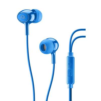 CL 294129 ACOUSTICB ACOUSTIC BLUE IN-EAR EARPHONES WITH MIC