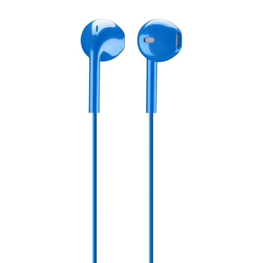 CL 301025 LIVEB LIVE BLUE EGG-CAPSULE EARPHONE WITH MIC