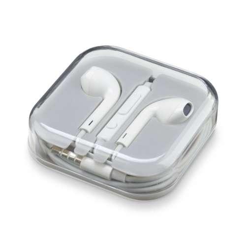 CL 349836 TAAUCAPW TECH AWAY HANDSFREE EARPHONES with MIC