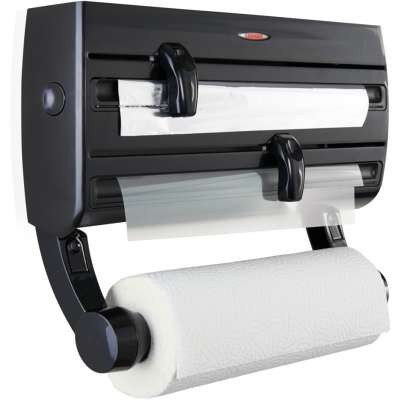 LEIFHEIT 25777 ROLL HOLDER PARAT F2 BLACK