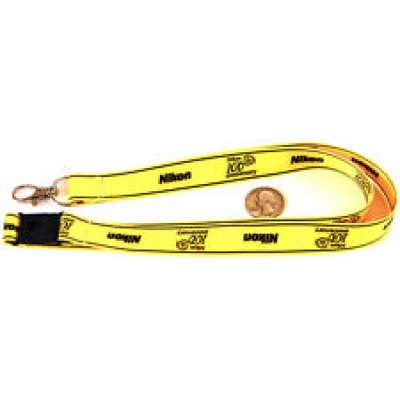 NIKON Lanyard Yellow 100 Years Anniversary