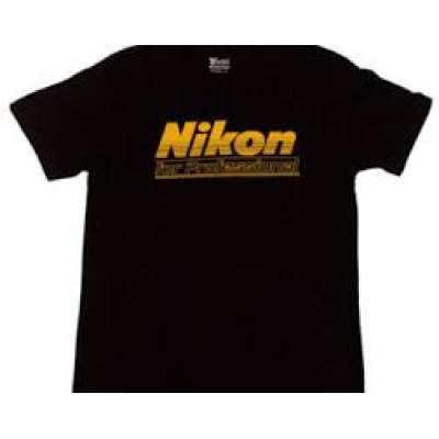 NIKON T-Shirt XXL Black (100 years)