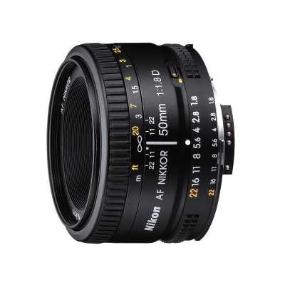 NIKKOR FX 50mm F/1.8 AF D