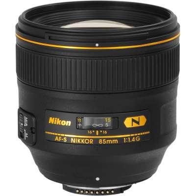 NIKON 85mm F/1,4 FX G AF-S