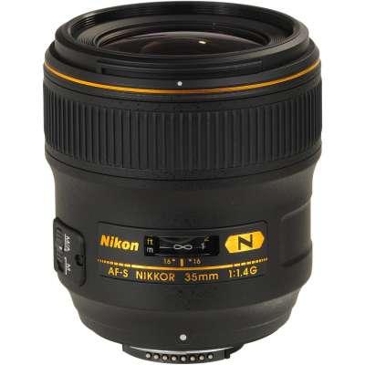 NIKKOR F FX 35mm F/1.4 AF-S G NANO CRYSTAL