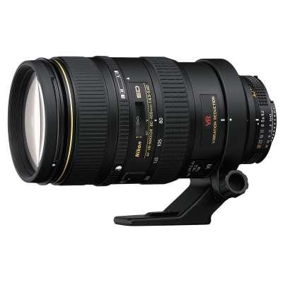 NIKON 80-400mm F4.5-5.6 FX G ED VR AF-S