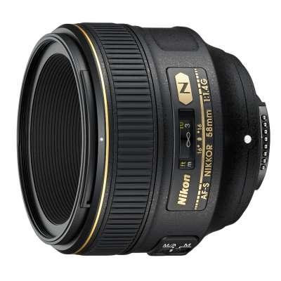 NIKON 58mm F1,4 FX G