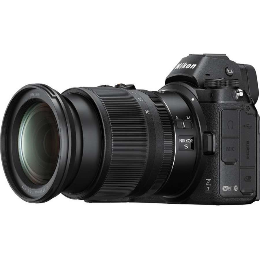 NIKON Mirrorless Z7 + 24-70mm f4 + FTZ Adapter Kit