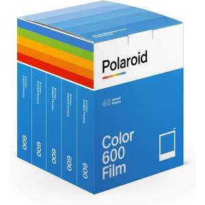 Polaroid Color film for 600 - x40 film pack 6013