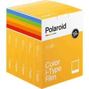 Polaroid Color film for i-Type - x40 film pack 6010