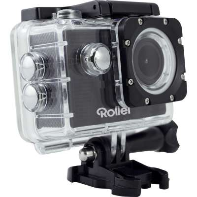Rollei 40140 Actioncam 372 Black + Rollei 21632 Actioncam Mount Surfing Grip