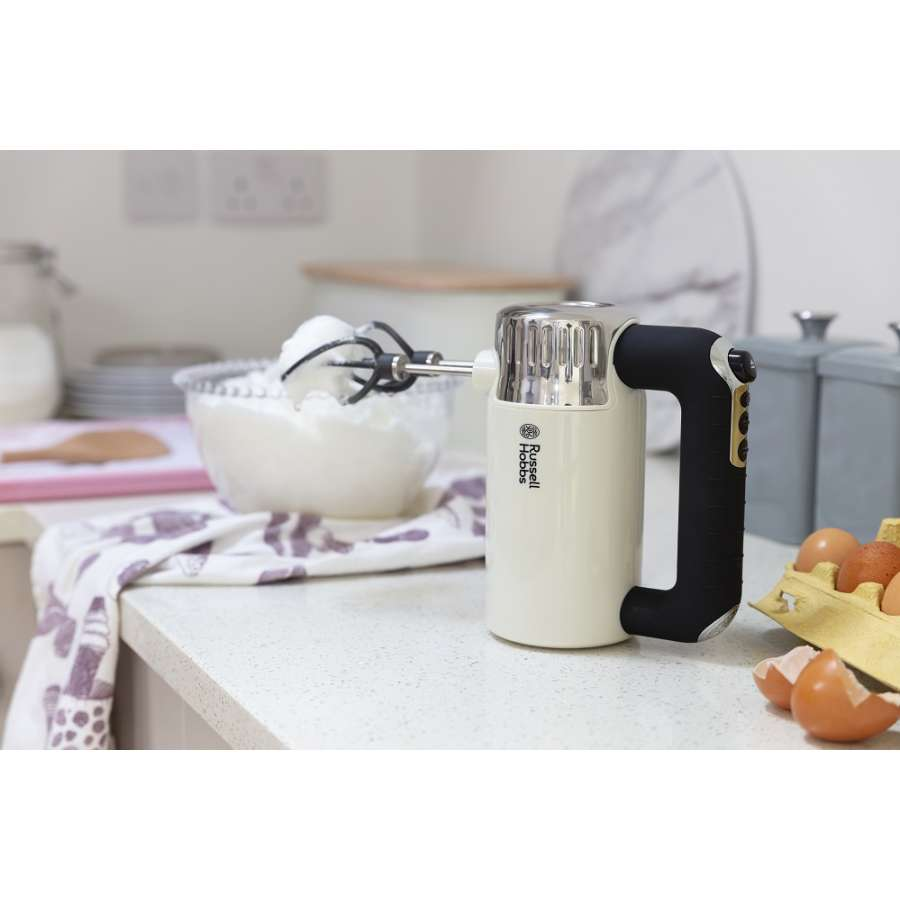 RH 25202-56 Retro Vintage Cream Hand Mixer
