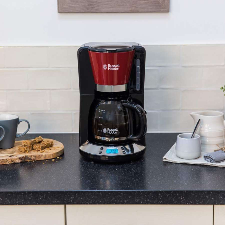 RH 24031-56 Colours Plus Flame Red Coffee Maker