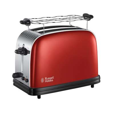 RH 23330-56 Colours Plus Flame Red Toaster