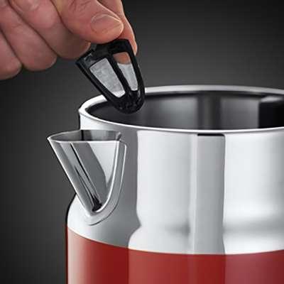 RH 21670-70 Retro Ribbon Red Kettle