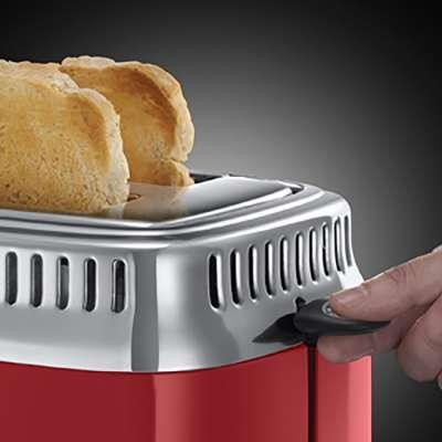 RH 21680-56 Retro Ribbon Red Toaster