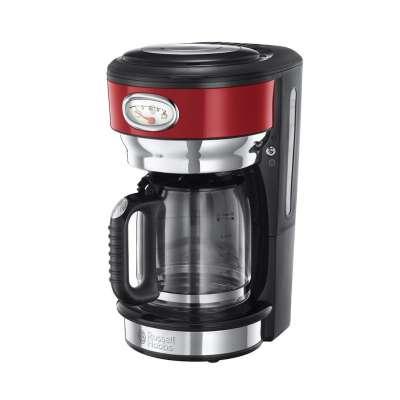 RH 21700-56 Retro Ribbon Red Coffee Maker