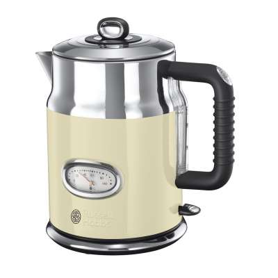 RH 21672-70 Retro Vintage Cream Kettle
