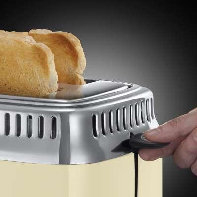 RH 21682-56 Retro Vintage Cream Toaster