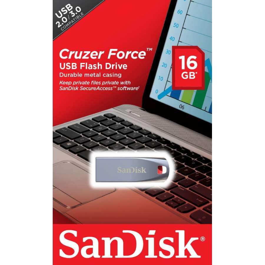 SanDisk SDCZ71-016G-B35 Cruzer Force 16GB