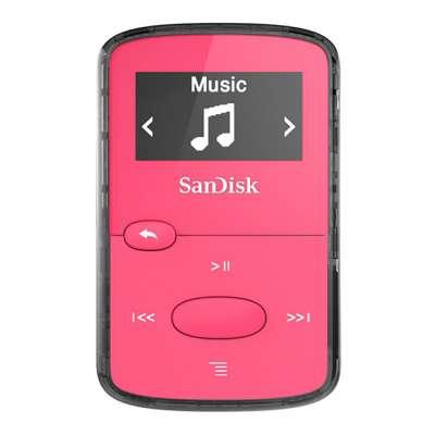 SanDisk MP3 Player SDMX26-008G-E46P, Clip JAM Pink