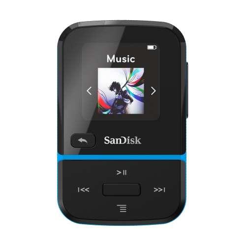 SanDisk SDMX30-016G-G46B Clip Sport Go Blue 16GB