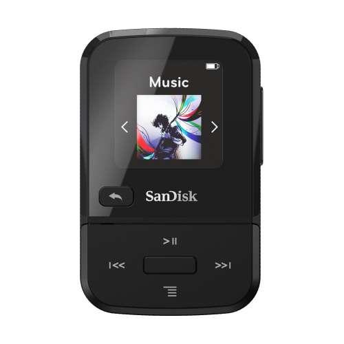 SanDisk SDMX30-016G-E46K Clip Sport Go Black 16GB