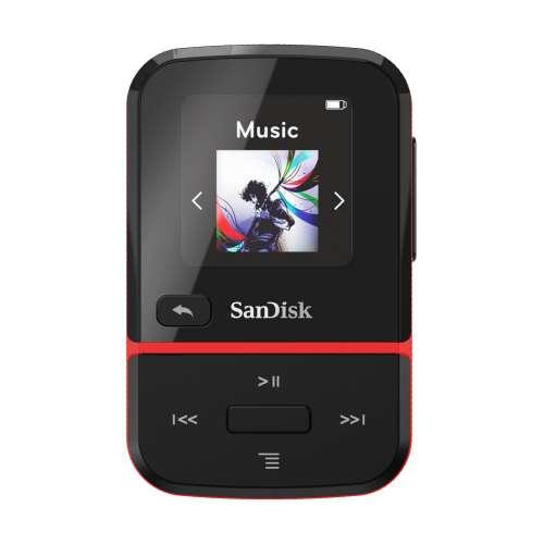 SanDisk SDMX30-016G-E46R Clip Sport Go Red 16GB