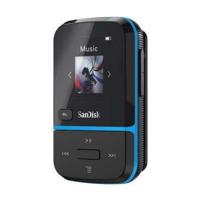 SanDisk SDMX30-032G-E46B Clip Sport Go Blue 32GB