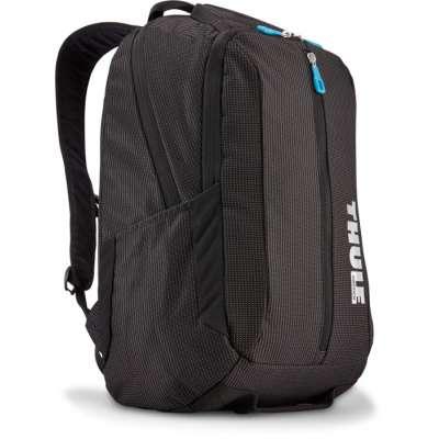 THULE TCBP317K Black Crossover Nylon Backpack for 15