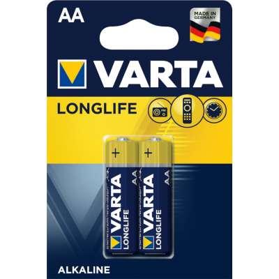 VARTA 4106 συσκ. 2 AΛΚΑΛΙΚΗ LONGLIFE AA