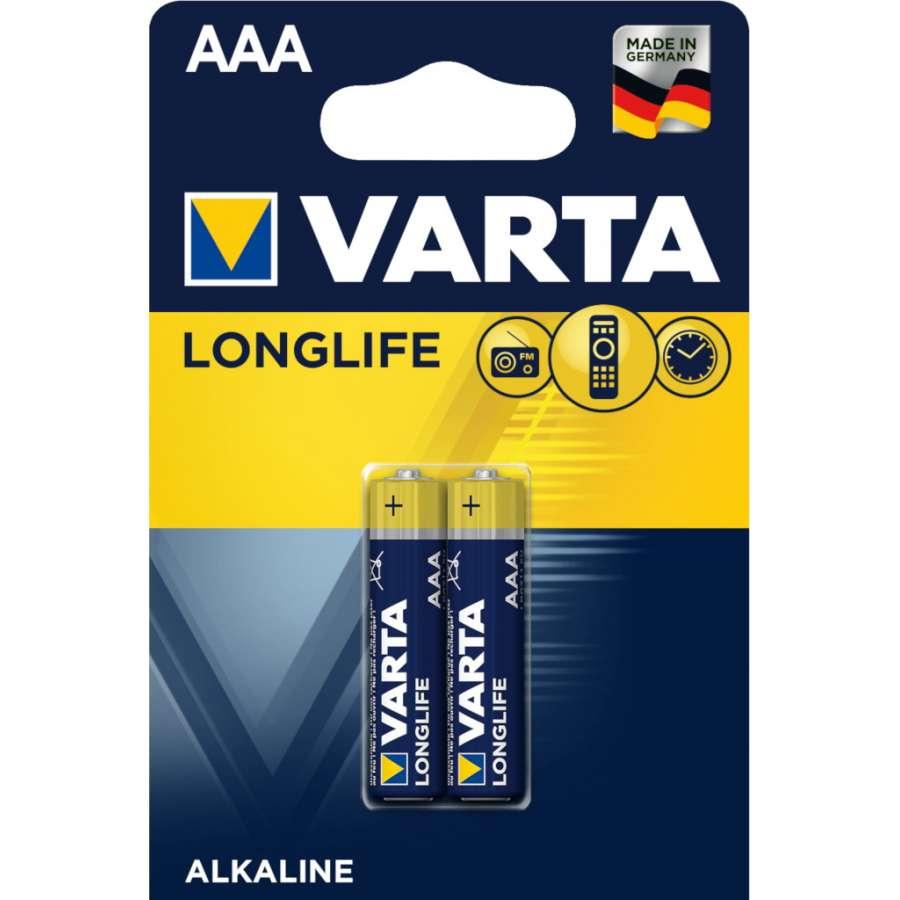 VARTA 4103 συσκ. 2 AΛΚΑΛΙΚΗ LONGLIFE AAA